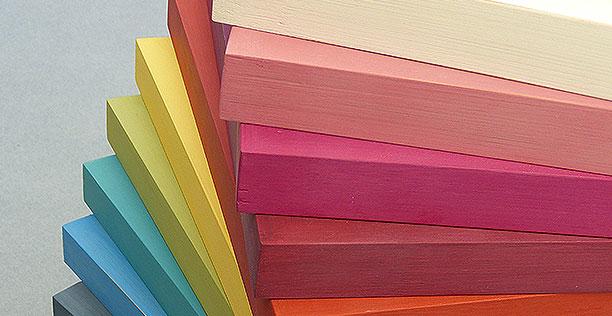 Bilderrahmen Farben bunt
