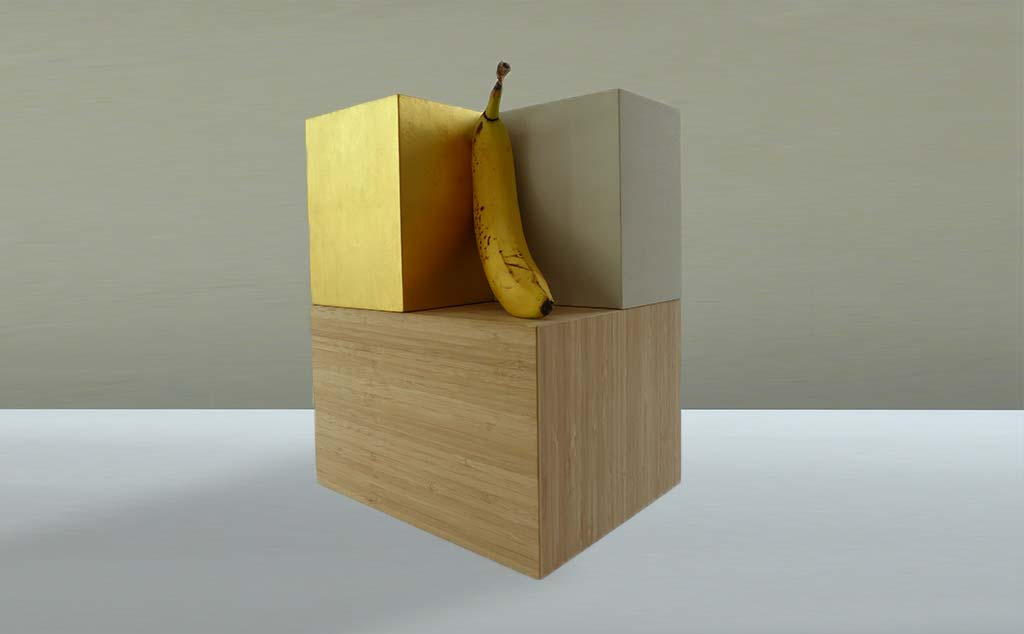 Ausstellungskonsolen_banane